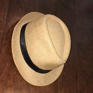 Accessories - Straw ribbon tourist hat